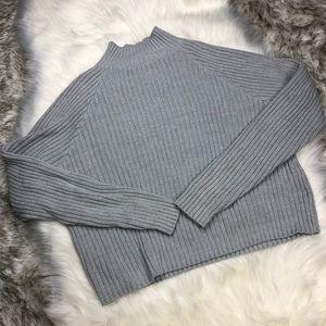 Forever 21 | Ribbed Knit Mockneck Sweater